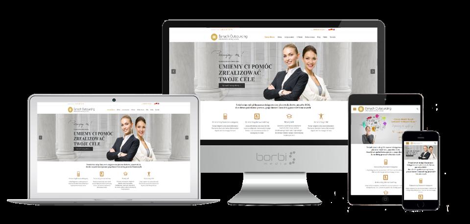 strona internetowa banach outsourcing