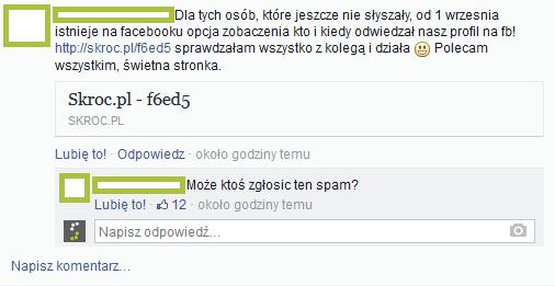 Oszustwo na FB