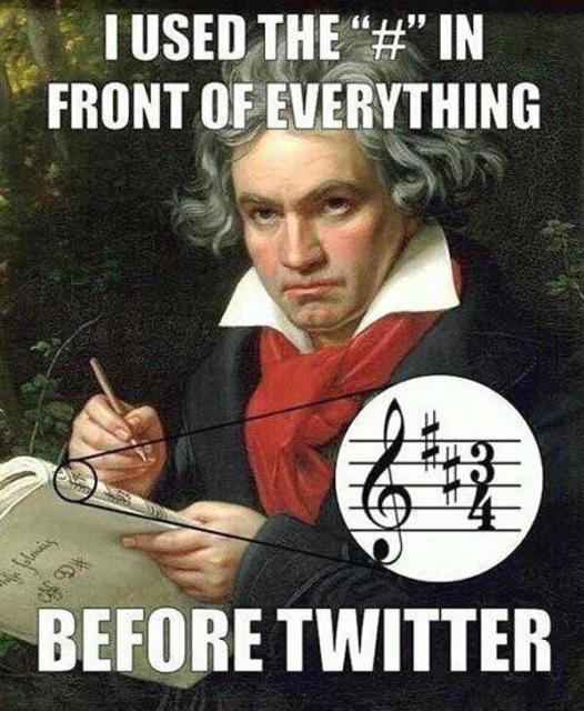 Hashtagi na Twitterze i Facebooku