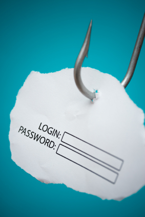 Atak phishingu