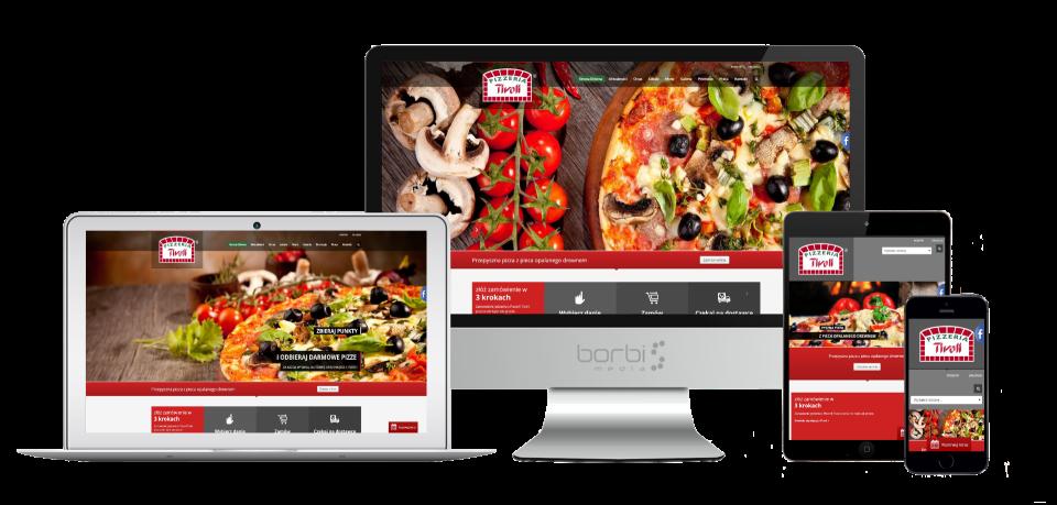 strona internetowa pizzerii tivoli
